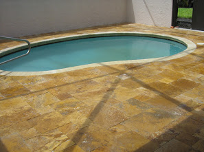 Custom Oval Pool Deck Installation 3