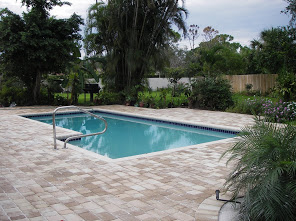 Rectangular Pool Deck Installation 1