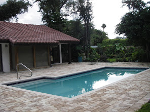 Rectangular Pool Deck Installation 4