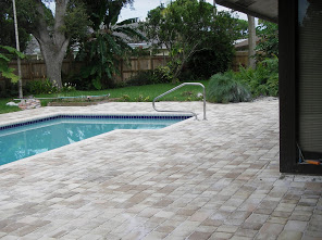 Rectangular Pool Deck Installation 7