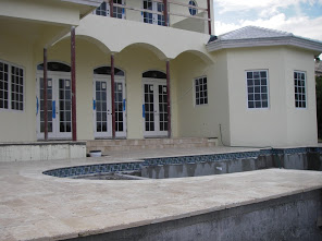 Two Story Home Custom Pool Deck Installation 2