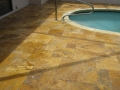 Custom Oval Pool Deck Installation 1