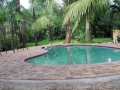 Oval Pool Deck Installation 4