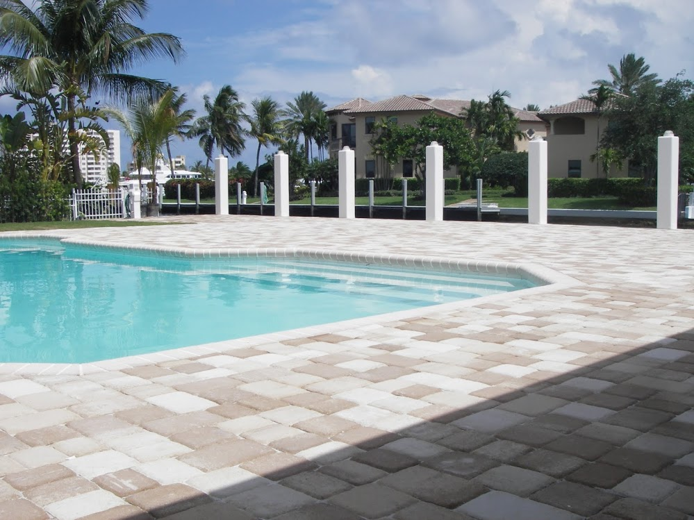 Completed projects america pavers contractors inc for Pool design fort lauderdale